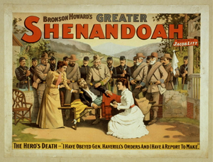 Bronson Howard's greater Shenandoah