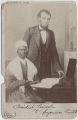 Portrait of President Abraham Lincoln and Sojourner Truth