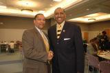 Lieutenant Governor Michael Steele with the National Organization of Black Law Enforcement Executives (NOBLE)