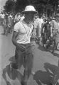 """Man participating in the """"March Against Fear"""" through Mississippi, begun by James Meredith."""