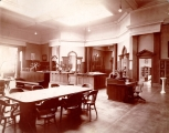 Hough Branch 1907: Carnegie building interior