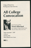 All College Convocation ft. Terence Blanchard