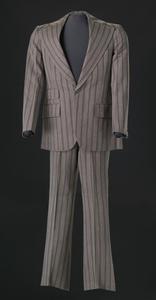 Brown pin-striped suit worn by Sammy Davis Jr