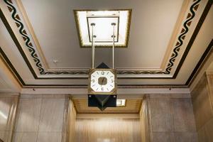 Clock. Potter Stewart U.S. Post Office and Courthouse, Cincinnati, Ohio