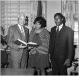 Atlanta Community Relations Commission swearing-in, Mayor Ivan Allen's office, 1968