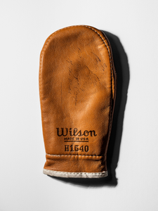 Training boxing glove signed by Cassius Clay