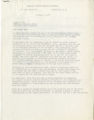 [Letter from B. Tartt Bell to Joseph Cox]
