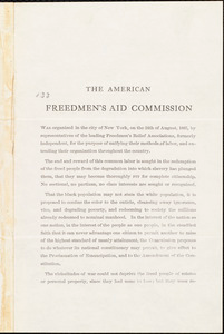 American Freedmen's Aid Commission