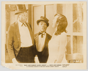 Film still for Buck and Bubbles Laugh Jubilee
