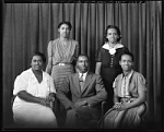 Miss Isadore Prince Family Group [from negative] [black-and-white cellulose acetate photonegative]