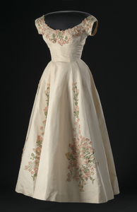 Dress designed by Ann Lowe