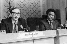 Wyche Fowler and Hosea Williams