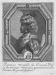 Portrait veritable du General Bass de trouppes Moresques, presentementauec l'Armee du grand Seigneur