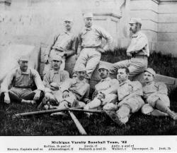 1882 University of Michigan Baseball Team