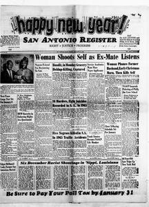 San Antonio Register (San Antonio, Tex.), Vol. 34, No. 44, Ed. 1 Friday, December 31, 1965 San Antonio Register