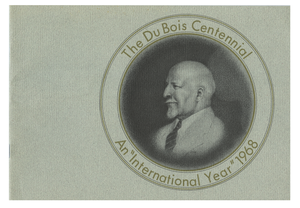 Du Bois centennial: An international year