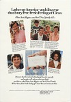 Lather up America... [Print advertising, in general circulation publications.] 1976