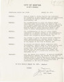 Boston City Council resolution in opposition to Judge W. Arthur Garrity's recommendation to place the Boston School Committee under receivership, 1975 August 25