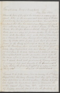 Court documents relating to the sale of runaway slave: John, belonging to Albert Dudley of Fayette County, Woodford County, Ky.