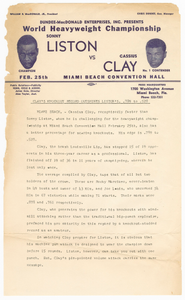 Document comparing Clay and Liston's knock-out percentages