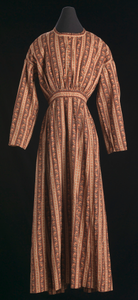 Dress made by an unidentified enslaved woman or women