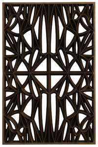 Corona panel designed for NMAAHC (Type C: 75% opacity)