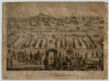 Nashville and the camp of the sixteenth regiment of Ills. Vols. Inft. at Edgefield, Tennessee