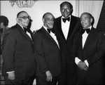 The Mills Brothers and Tom Bradley, Los Angeles, ca. 1976