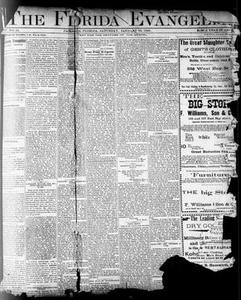 The Florida Evangelist (Jacksonville, Fla.), Vol. 4, No. 34, Ed. 1 Saturday, January 20, 1900 The Florida Evangelist