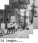 Students Protest Against Segregation--Fillmore Street