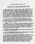 Mississippi State Sovereignty Commission photograph [Image of Southern Conference Educational Fund meeting minutes]