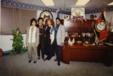 Group photograph in the mayor's office (1 of 2)