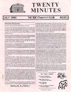 Twenty Minutes (July, 1990)