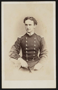 [Captain Louis Estell Fagan of Co. A, 17th Pennsylvania Infantry Regiment, Anderson Troop Pennsylvania Cavalry Company, and the Marine Corps in Marine Corps uniform]