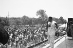 Malcolm Jamal Warner at Black Family Reunion, Los Angeles, 1989