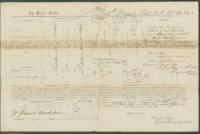 Voucher to Capt. Frederick Meyers, 27th Michigan Infantry