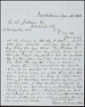 Charles B. Johnson correspondence, business records and receipts, 1866-1888