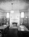Reading room at Vernon Branch Library