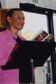 Odessa Bethea reading her poetry