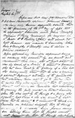 Affidavit of Ishmael Lonon: Albany, Georgia, 1868 Sept. 27
