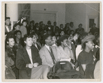 View of the audience at the American Negro Theatre
