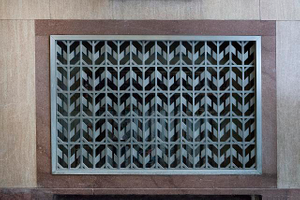 Grille. Potter Stewart U.S. Post Office and Courthouse, Cincinnati, Ohio