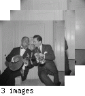 Louis Satchmo Armstrong Learns Chinese Moon Guitar--Fairmont Hotel