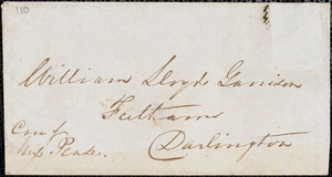 Letter from George Thompson, London, [England], to William Lloyd Garrison, [1846] Oct[ober] 14