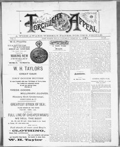 Torchlight Appeal. (Fort Worth, Tex.), Vol. 3, No. 29, Ed. 1 Monday, February 3, 1890 The Torchlight Appeal