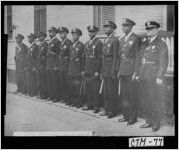 [Photograph of first African-American members of the Savannah Police Department, Savannah, Chatham County, Georgia, 1947 May 3]