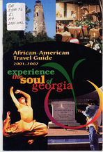 African American travel guide 2001-2002: experience the soul of Georgia [2001]