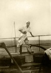 13. 1931, Merle McCurdy Employed as a Cook on a Great Lakes Ore Ship