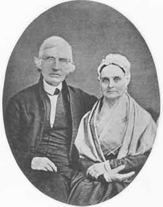 James Mott and Lucretia Coffin Mott