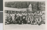 A. R. Holton with U. S. Soldiers at a Church Retreat in South Korea, Seoul, South Korea, 1961